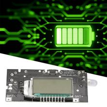 4Pcs Micro Dual USB 5V 1A 2.1A  Lithium Battery Charger Module LED display Charging Board With Protection Functions