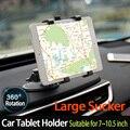 """Grande Otário Rotação de 360 7 """"~ 10.5"""" titular tablet carro montar estande stents para ipad mini 2 3 4 air 2 para samsung xiaomi asus"""