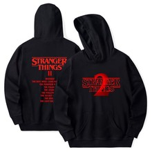 Stranger Things Hoodie 2019 뉴 핫 TV 아메리카 스웻 셔츠 밀리 바비 브라운 후디 맨 힙합 캐주얼 패션 후드