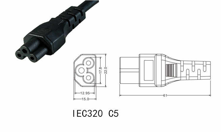 Y Type Splitter Power Cord Iec320 C14 Plug 3 Prong Male Power Cable Cord Ac Power Adapter To C13 C5 Female Power Cords Extension Cords Aliexpress