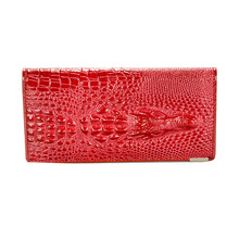 Brand Women Genuine Leather Long Women Wallet Hasp Female Clutch Purse Solid Color Leather Coin Bag Wallet Lady Card Holder Bag