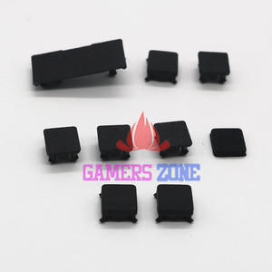 Image 2 - 20sets For Playstation 3 PS3 Slim rubber boot pad feet plastic screw cover kit 9 pieces hdd swivel door