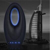 Luxury Dubai Sailing Hotel Bluetooth Wireless TF Card Speaker Mini Portable FM Radio Lighting Ring Boat Lamp speaker