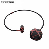 Fineblue FL C7 Wireless Earphone stretchable Bluetooth Headphones Bluetooth Headset Handsfree Earbud with mic Business for Phone
