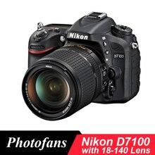 Nikon D7100 DSLR камера с объективом 18-140 мм