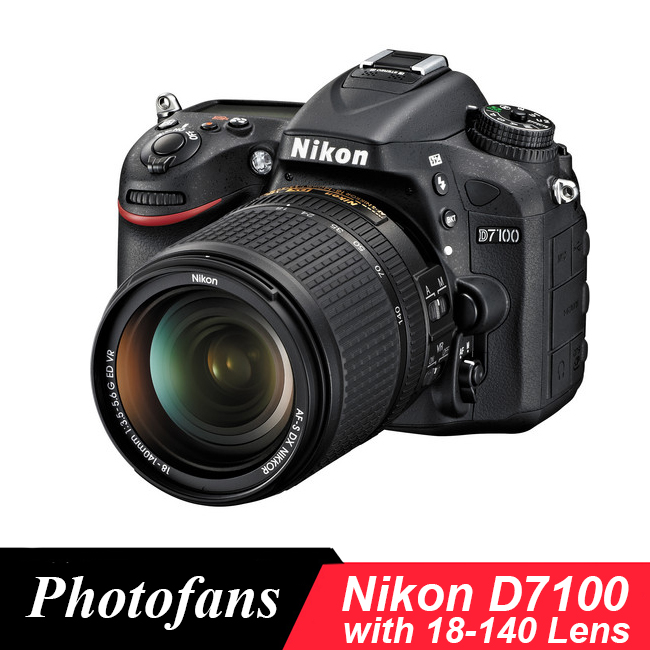 Цифровая зеркальная камера Nikon D7100 с объективом 18-140 мм VR