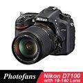 Nikon D7100 DSLR Kamera mit 18-140mm Objektiv