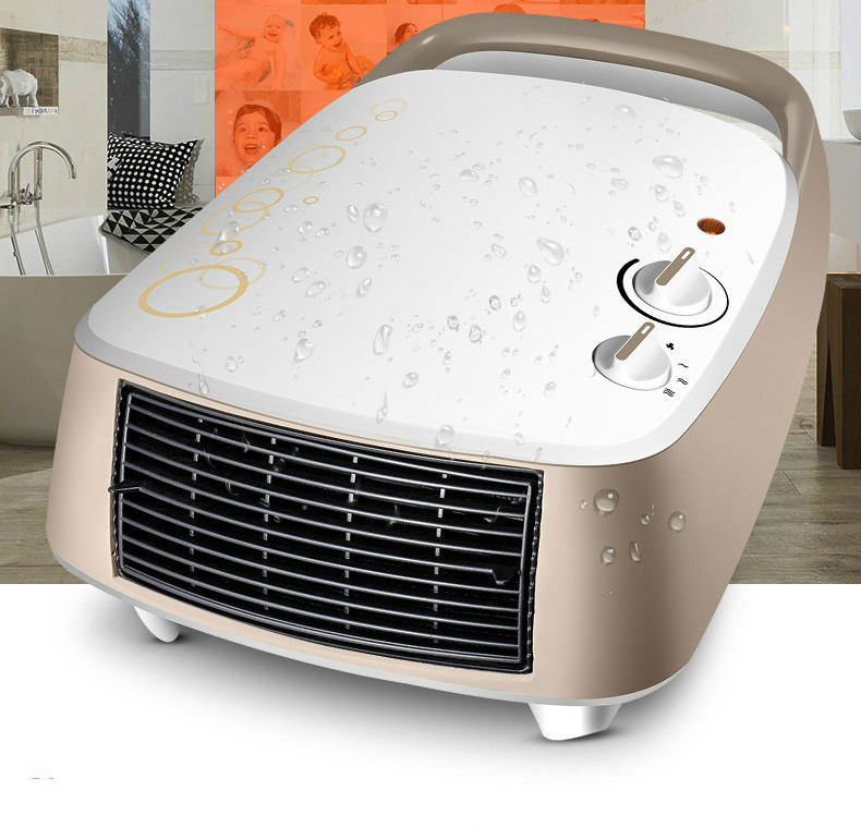 Fan heater with changes in temperature the bathroom electric mini hot air blower nidec x17l50bs2m3 07 dc 50v 3 12a 150x150x50mm server round fan