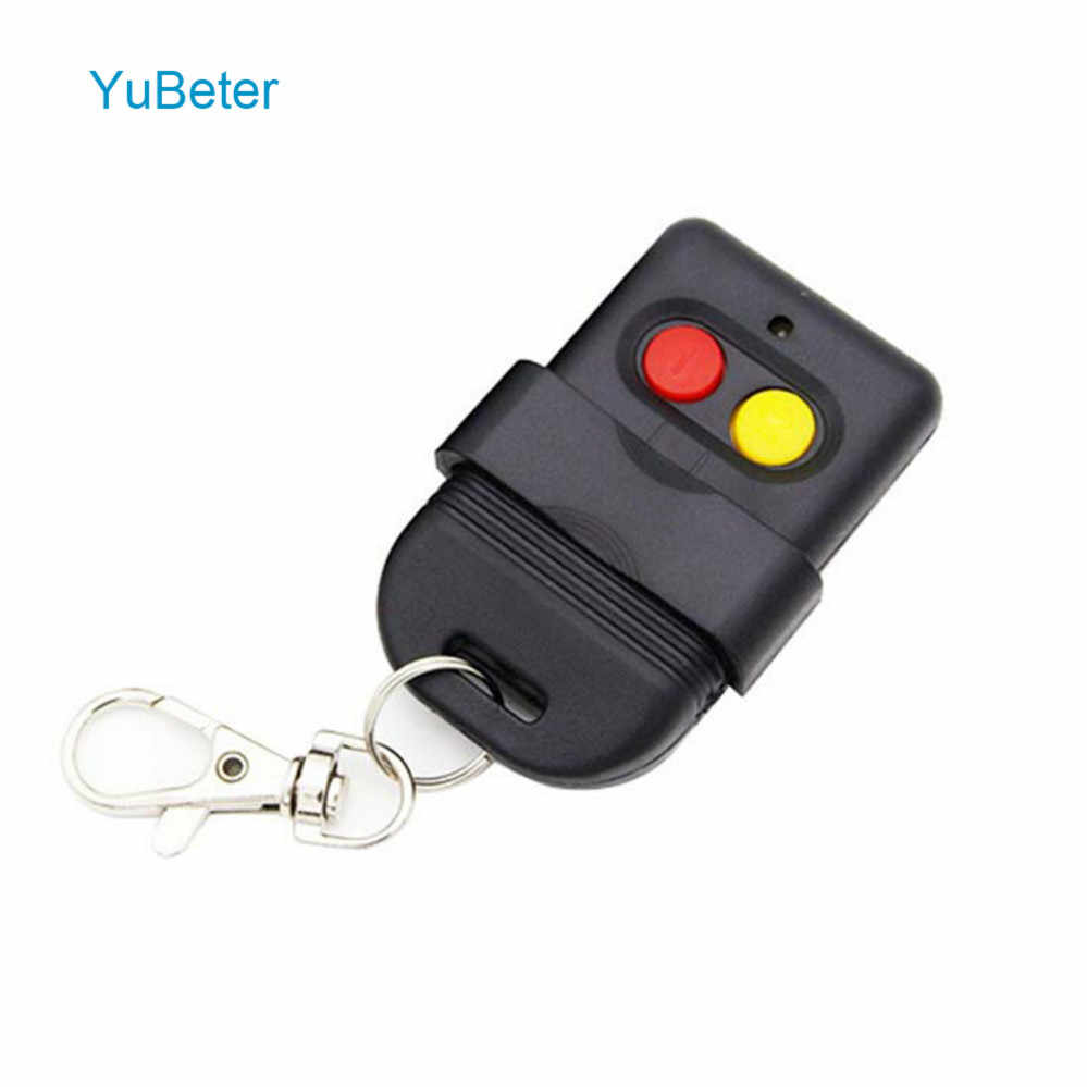 YuBeter Electric Remote Control Duplicator 433/315/330MHZ Two Buttons Cloning Garage Gate Door Opener Car Anti-theft Keys