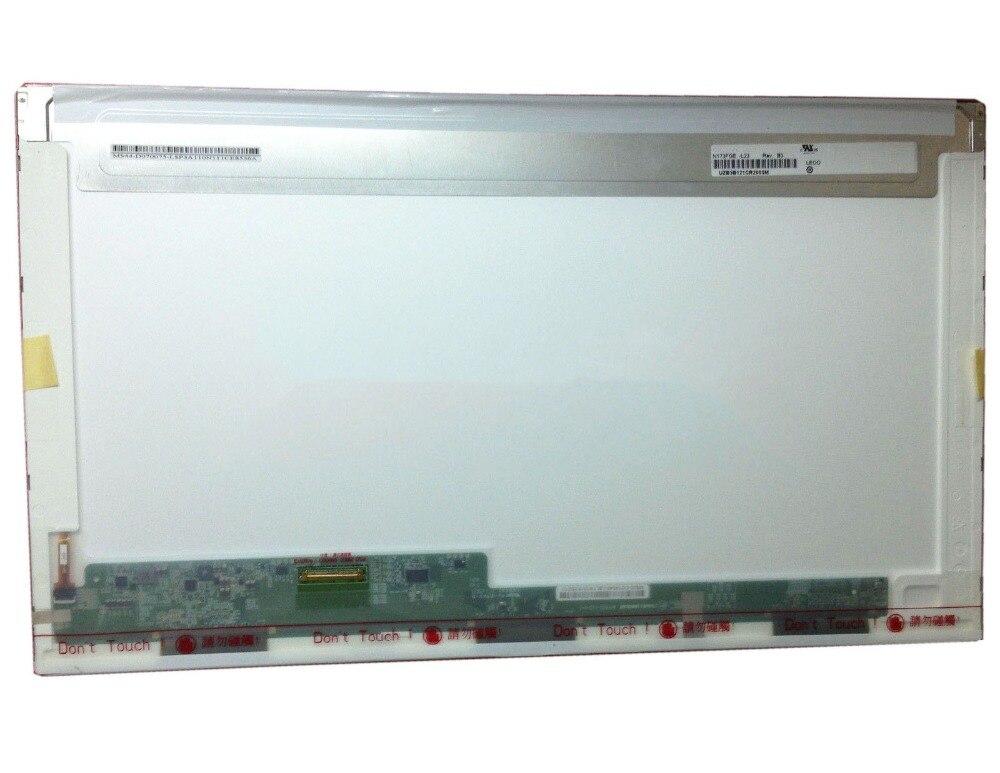 17 3 LCD screen Laptop Matrix For Lenovo G710 For Lenovo G700 Display HD 1600X900 40