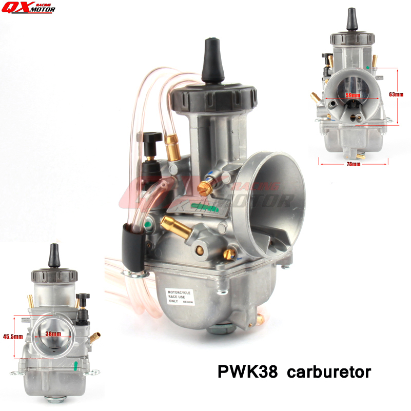 Universal PWK Carburetor 38mm Carb For Keihin Honda Kawasaki Suzuki Yamaha Ktm Dirt Bike Enduro Motorcycle ATV Quad dirt bike quad pwk40 pwk 40mm airstriker air striker carb carburetor for suzuki honda kawasaki yamaha ktm
