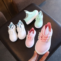 2018 Spring Autumn Baby Shoes Girl Breathable Sneakers Shoes For Girl Bunny Princess Shoes Not Stinky