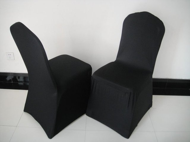 Black Banquet Chair Covers For Sale Wainscoting Rail Aliexpress Com Buy Spandex Cover 205 210gsm