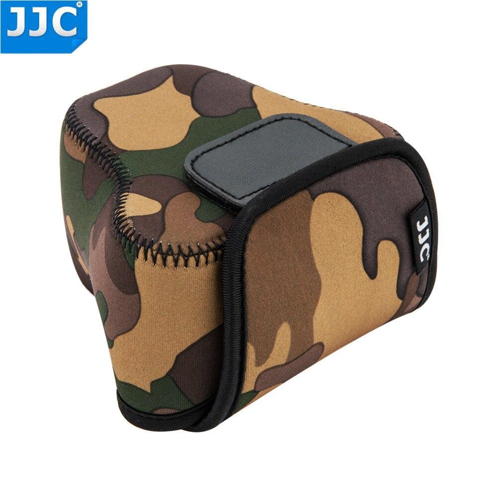Jjc Mirrorless Photo Camera Bag For Canon Nikon Pentax Panasonic 1 J5 Double Kit 10 30mm 30 110mm Black Product Highlights