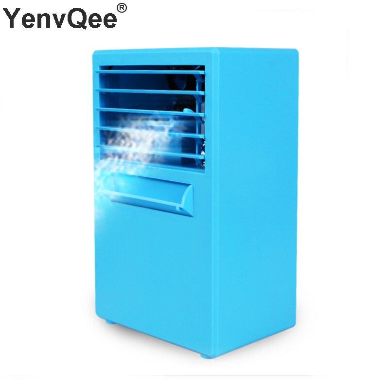 Refroidisseur d'air climatiseur ventilateur USB Portable humidificateur purificateur ventilateur de refroidissement bureau/sol ventilateur arctique pour bureau ménage