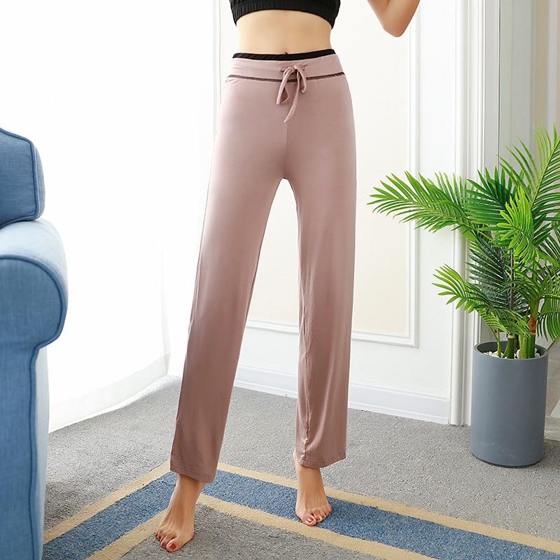 100% Cotton Women's Pants Loose S Ports Drawstring Casual Workout Pants Female Summer Trousers Long Fashion Sweatpants Plus Size