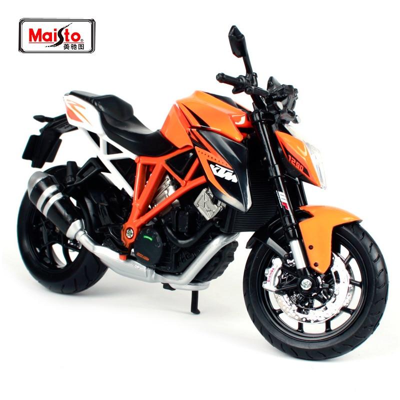 1//12 Maisto KTM1290 Super Duke Diecast Motorcycle Model Bike 13065 Orange
