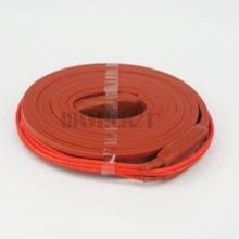 220 В переменного тока 15x1500 мм 115 Вт водонепроницаемый гибкий силиконовый резиновый нагреватель нагревательный ремень unморозильник для труб...
