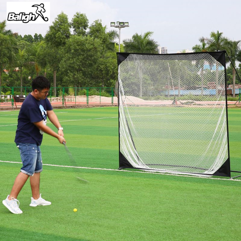 Outdoor Golf Training Target Net Exercise Mesh Net Multi Flat Hitting Cages Net 7*7cm Shipped From USA hockey net travel portable lacrosse pop up lax net for backyard shooting collapsible outdoor sport training foldable hockey goal