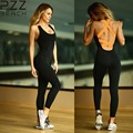 Female Bodycon Fitness Jumpsuit Rompers Bodysuit Sleeveless Sexy Club Elegant One Piece Jumpsuits For Women 2016 Spandex