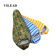 VILEAD 3 Colors Mummy type Ultralight Sleeping Bag Portable Waterproof Hiking Camping Stuff Adult Sleep Bed Quilt Lightweight