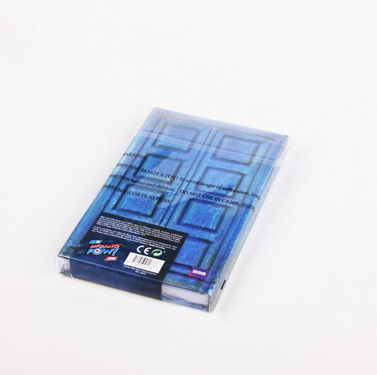 NEW hot Doctor Who Tardis Journal Book toy Notebook River Songs Travel Journal collectors action figure toys Christmas gift
