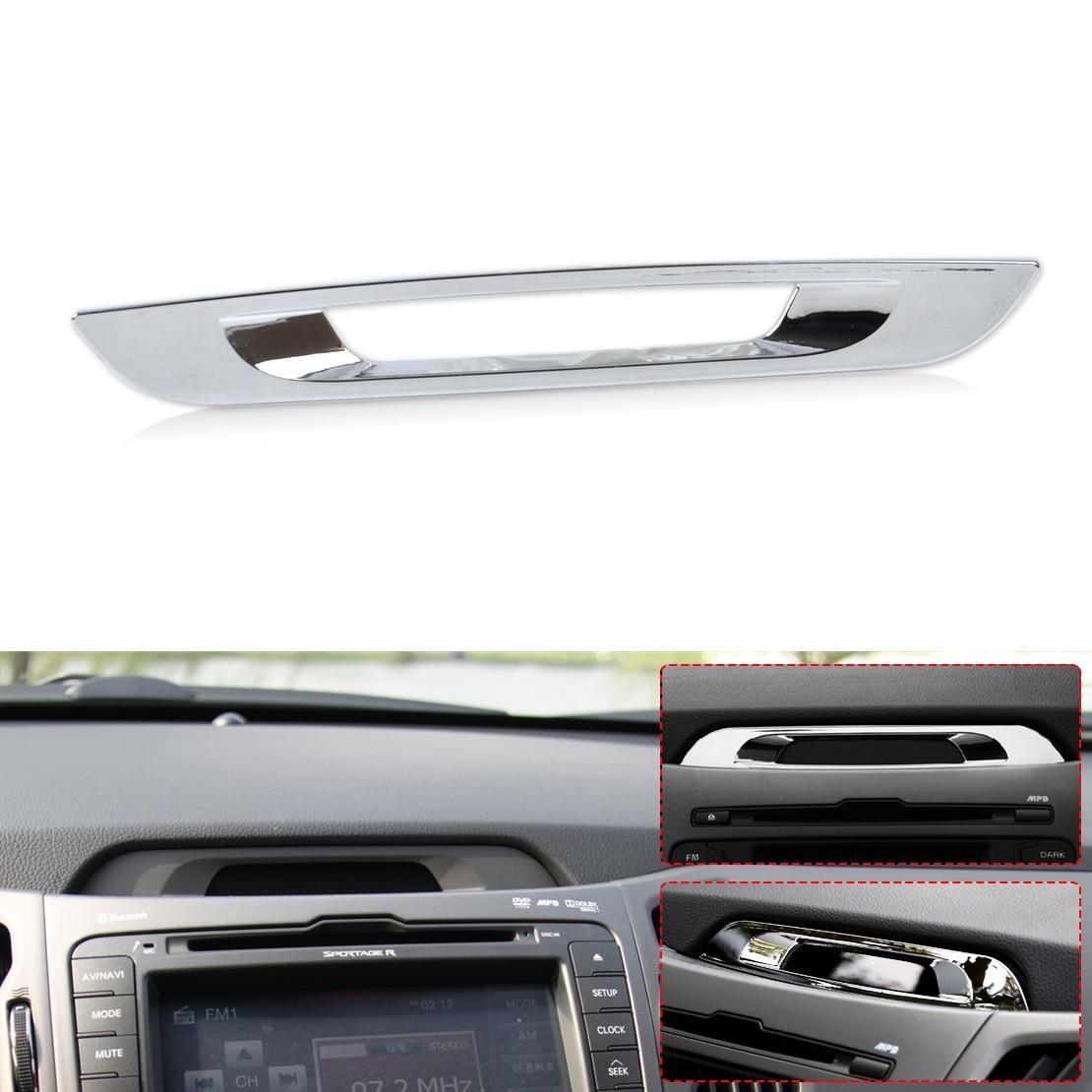 2012 Kia Sportage Interior: CITALL Chrome Interior Console Display Molding Trim For