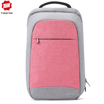 Tigernu Multi Fashion Female Anti-theft high carbon steel rope Leisure Travel Laptop Backpack Women School Business Notebook Bag laptop bag