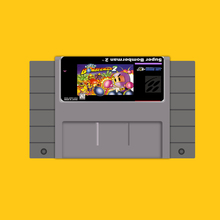 Super Bomberman 2 16 bit Big Gray Game Card For USA NTSC Game Player