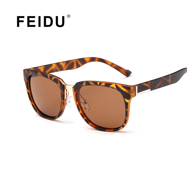 FEIDU Luxury High Quality Polarized Sunglasses Women Men Brand Designer With Box Sun glasses For Women UV400 Gafas Oculos De Sol