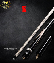 LP 3/4 Piece Snooker Cue Billiard High-end All Handmade Stick Kit with Case Extension 11.5mm Tip