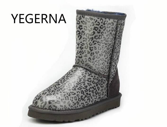 2016 Australia High Quality Fashion Snow Boots for Women 100% Genuine Sheepskin Leather Natural Fur Women   Wool Winter Boots top quality fashion women ankle snow boots genuine sheepskin leather boots 100% natural fur wool warm winter boots women s boots