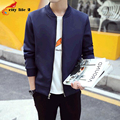 Men's Jacket Space Cotton 2016 Autumn And Spring New casual Casual Coats Male autumn Jackets Stand Collar Plus Size M-3XL