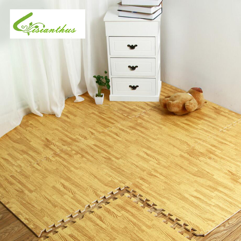 Soft EVA Puzzle Crawling Pad Interlock Foam Wood Texture Floor Mat  Waterproof Rug for Child Bedroom - Online Get Cheap Interlocking Wood Flooring -Aliexpress.com