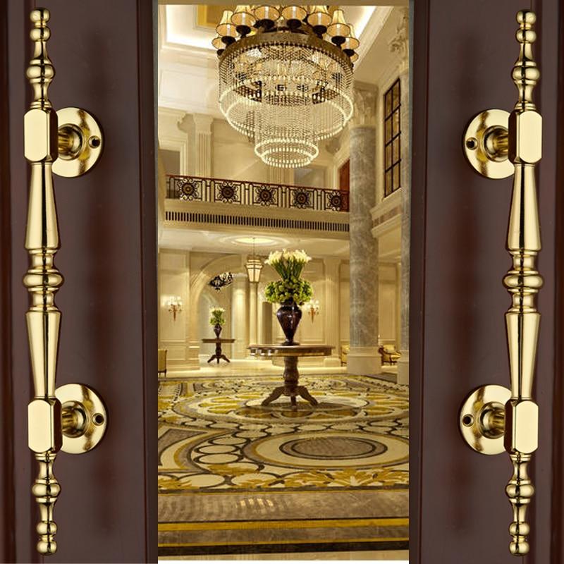 European Gold Solid Wooden Door Sliding Door Wardrobe Door Handle Cabinet Drawer Handle Knobs Hardware DesignEuropean Gold Solid Wooden Door Sliding Door Wardrobe Door Handle Cabinet Drawer Handle Knobs Hardware Design