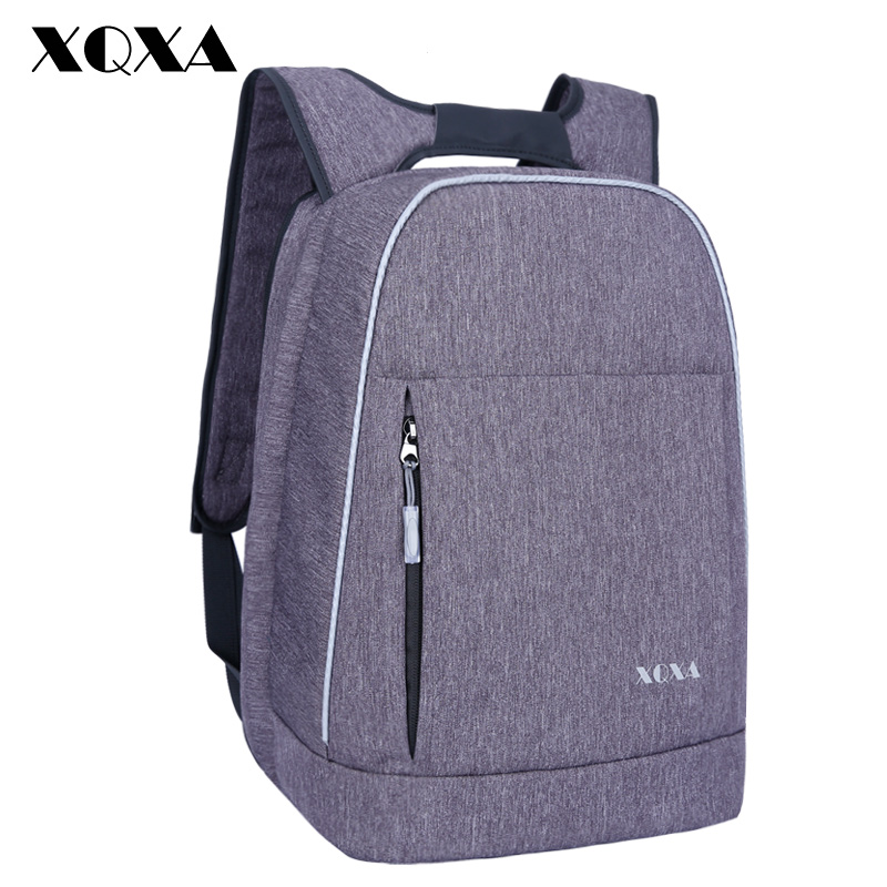 XQXA College Unsex Smart Backpack Fits 13-15 Inch Laptop Bagpack Anti Theft Business Travel Back pack for Women and Men Mochilas