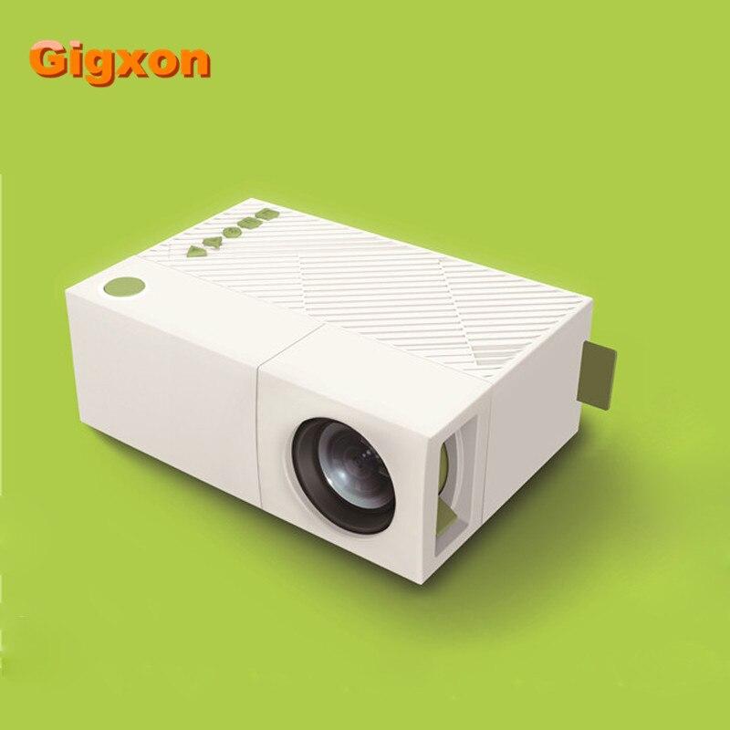 Yg310 Lcd Projector 600lm 320 X 240 1080p Mini Portable Hd: Gigxon G19+ 2016 Hot 320 X 240 Pixels HDMI USB Mini