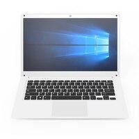 14,1 дюймовый ноутбук с 2 + 32G офисные ноутбуки ультрабук четырехъядерный Window10 6000 mAh аккумулятор ноутбук компьютер