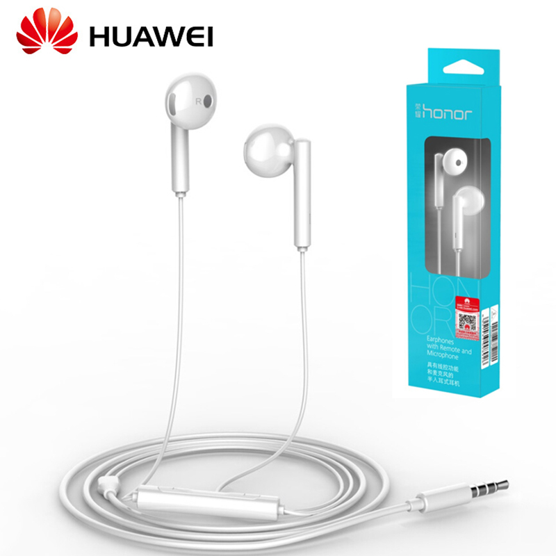 Original Huawei AM115 Earphone Metal With Mic Volume Control For Android Smartphone For Huawei P8 9 10 Mate7 8 9 Honor 5X 6X 8(China)
