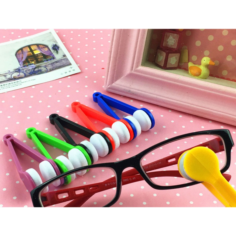 Portable Glasses Cleaning Rub Automotive Accessorie  Multifunction Microfiber Cleaner Sweeping Glasses Cleaning Tools