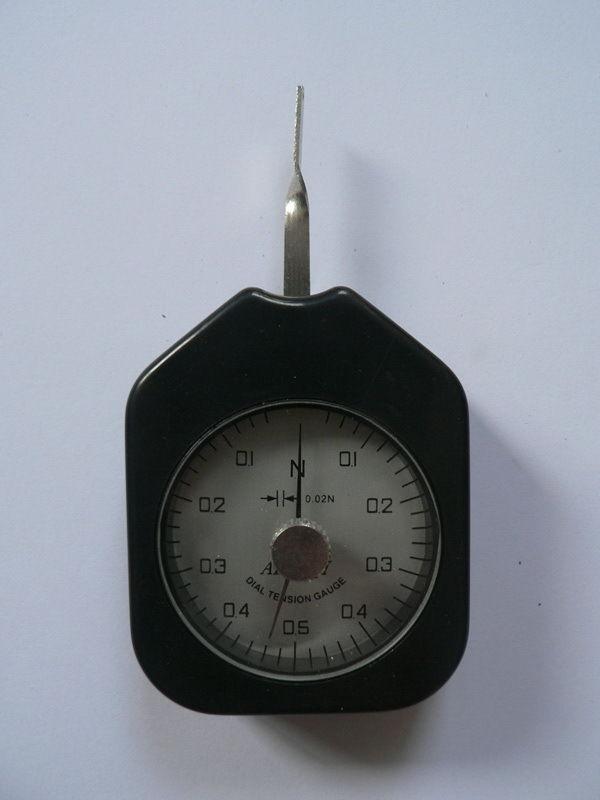 Dial Tension Gauge Force Meter Dual Pointer 0.5 N  цены
