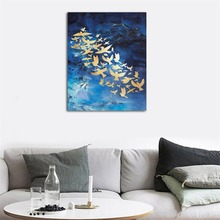 Laeacco Abstract Posters and Prints Watercolor Paintings Wall Charts Picture Canvas on the Nordic Home Decoration