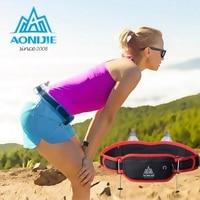 Outdoor Sports Waist Bag Men Women Running Hydration Belt Waist Bag Pack Phone Holder For 170ml Water Bottles