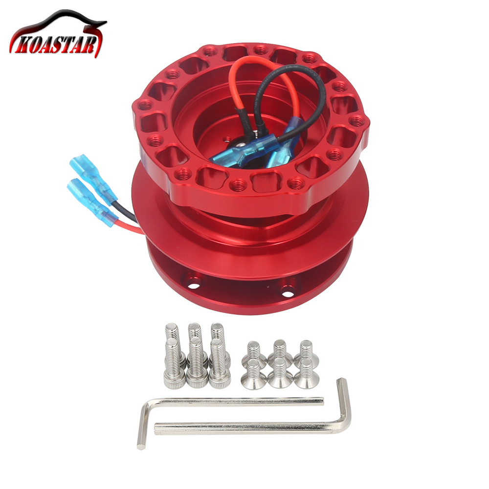 12 Bolts Racing Car Steering Wheel Quick Release Hub Adapter Boss Kit universal steering wheel snap off quick release hub adapter boss kit with 70mm bolt pattern for 6 hole steering wheel hub