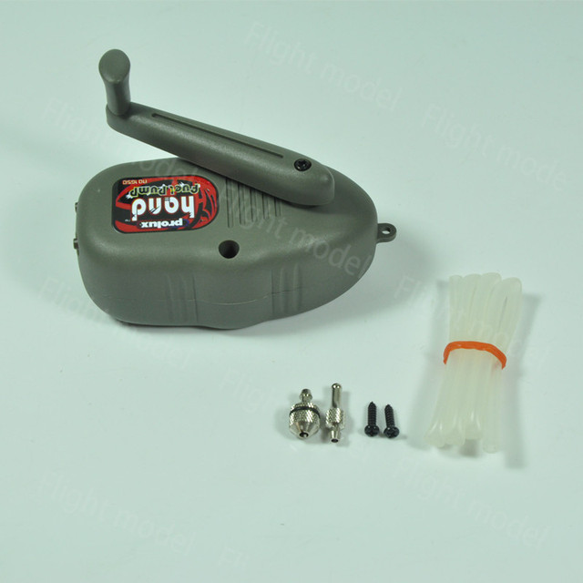 Prolux PX1650 Hand Fuel Pump for Gasoline/Nitro Engine