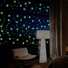 Glow In The Dark Stars Wall StickersAdhesive Moon for Starry Sky Luminous Wall Decals Decor For Kids Room or Christmas Gift