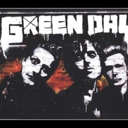 Green Day – Brick Laminated & Framed Poster Print (36 x 24)