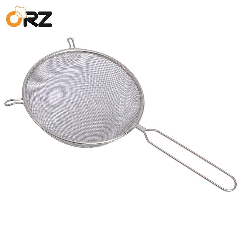 ORZ bien filtro de malla tamiz de harina tamiz colador de alambre de acero  inoxidable filtro 930867aa8d8d