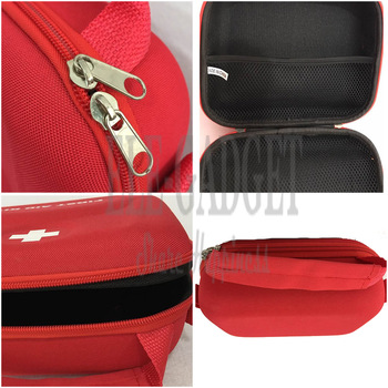 High Quality Home Portable Waterproof First Aid Kit Red EVA Bag For Family Or Travel Emergency Medical Treatment 6