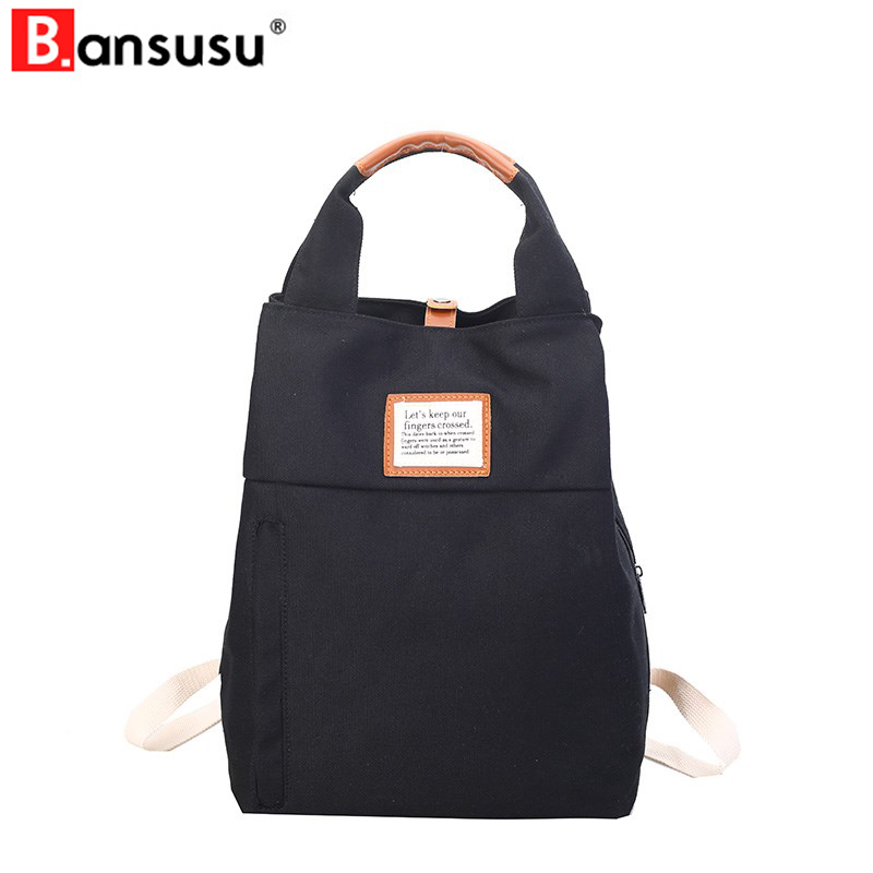 New 2019 Korean Style Women Backpacks Brand Lady Travel Shoulder Mochila Girl School Backpack Canvas Casual Tote Bag Rucksack
